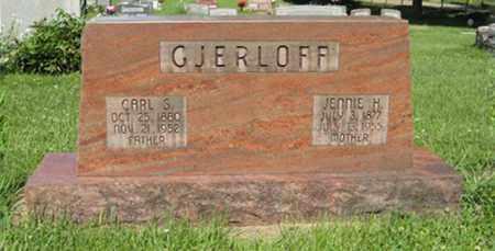 GJERLOFF, CARL S. - Hamilton County, Nebraska | CARL S. GJERLOFF - Nebraska Gravestone Photos