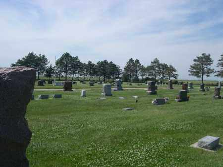 *HAMPTON CEMETERY, VIEW OF - Hamilton County, Nebraska   VIEW OF *HAMPTON CEMETERY - Nebraska Gravestone Photos