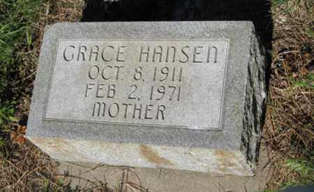 HANSEN, GRACE - Hamilton County, Nebraska | GRACE HANSEN - Nebraska Gravestone Photos