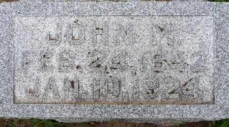 HEFTY, JOHN M. - Hamilton County, Nebraska | JOHN M. HEFTY - Nebraska Gravestone Photos
