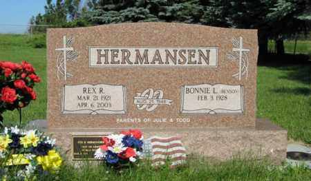 HERMANSEN, REX R. - Hamilton County, Nebraska | REX R. HERMANSEN - Nebraska Gravestone Photos