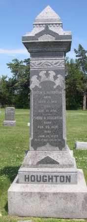 HOUGHTON, ORRIN - Hamilton County, Nebraska   ORRIN HOUGHTON - Nebraska Gravestone Photos