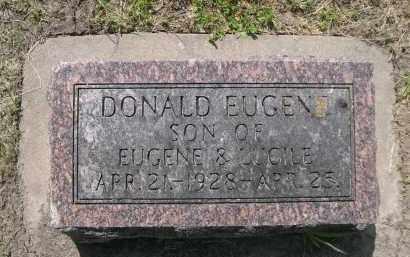 HUTSELL, DONALD EUGEN - Hamilton County, Nebraska | DONALD EUGEN HUTSELL - Nebraska Gravestone Photos