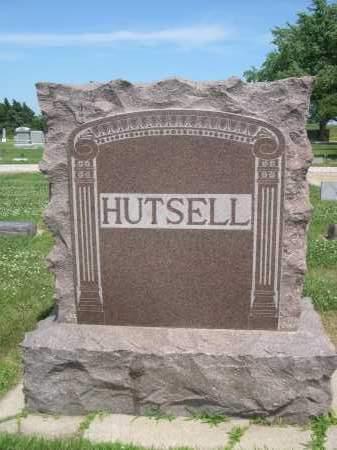 HUTSELL, FAMILY MONUMENT - Hamilton County, Nebraska | FAMILY MONUMENT HUTSELL - Nebraska Gravestone Photos