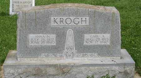 KROGH, ANNA N. - Hamilton County, Nebraska | ANNA N. KROGH - Nebraska Gravestone Photos
