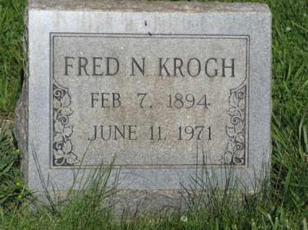 KROGH, FRED N. - Hamilton County, Nebraska   FRED N. KROGH - Nebraska Gravestone Photos
