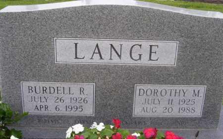 VERNER LANGE, DOROTHY M. - Hamilton County, Nebraska   DOROTHY M. VERNER LANGE - Nebraska Gravestone Photos