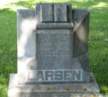 LARSEN, LOUIS A. - Hamilton County, Nebraska | LOUIS A. LARSEN - Nebraska Gravestone Photos