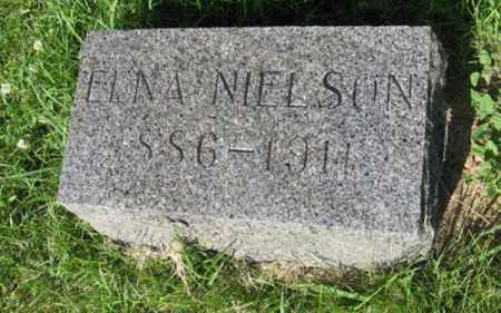 NIELSON, ELNA - Hamilton County, Nebraska | ELNA NIELSON - Nebraska Gravestone Photos