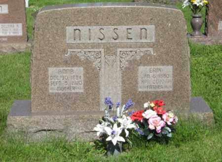 NISSEN, ANNA - Hamilton County, Nebraska | ANNA NISSEN - Nebraska Gravestone Photos