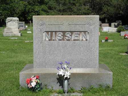 NISSEN, FAMILY - Hamilton County, Nebraska | FAMILY NISSEN - Nebraska Gravestone Photos