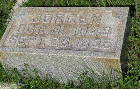 NISSEN, JORGEN - Hamilton County, Nebraska | JORGEN NISSEN - Nebraska Gravestone Photos
