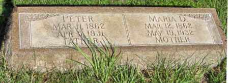 NISSEN, MARIA D - Hamilton County, Nebraska | MARIA D NISSEN - Nebraska Gravestone Photos