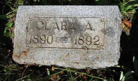 OLSEN, CLARA A. - Hamilton County, Nebraska   CLARA A. OLSEN - Nebraska Gravestone Photos