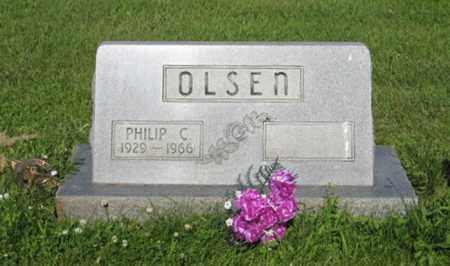 OLSEN, PHILIP C. - Hamilton County, Nebraska | PHILIP C. OLSEN - Nebraska Gravestone Photos