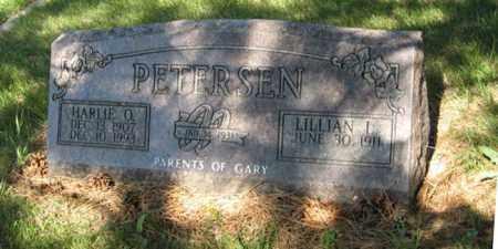 PETERSEN, LILLIAN L. - Hamilton County, Nebraska | LILLIAN L. PETERSEN - Nebraska Gravestone Photos