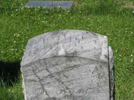 RAUN, HANNE S. (CLOSEUP OF TOP) - Hamilton County, Nebraska | HANNE S. (CLOSEUP OF TOP) RAUN - Nebraska Gravestone Photos