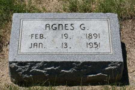 RODABAUGH, AGNES G. - Hamilton County, Nebraska | AGNES G. RODABAUGH - Nebraska Gravestone Photos