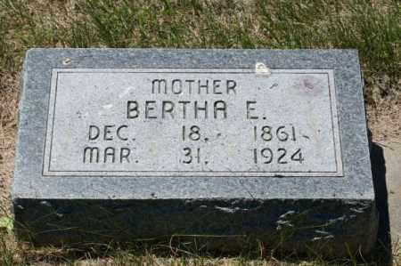 REED RODABAUGH, BERTHA E. - Hamilton County, Nebraska | BERTHA E. REED RODABAUGH - Nebraska Gravestone Photos