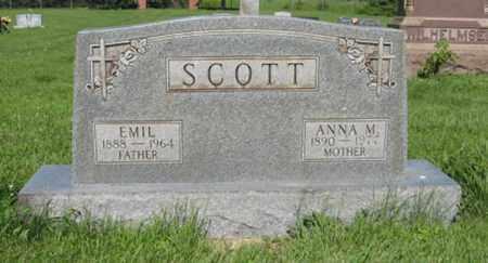 SCOTT, EMIL - Hamilton County, Nebraska | EMIL SCOTT - Nebraska Gravestone Photos