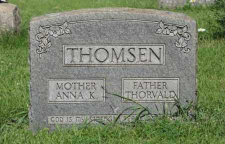 THOMSEN, THORVALD - Hamilton County, Nebraska | THORVALD THOMSEN - Nebraska Gravestone Photos