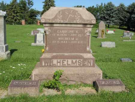 WILHELMSEN, CAROLINE K. - Hamilton County, Nebraska   CAROLINE K. WILHELMSEN - Nebraska Gravestone Photos