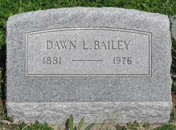 BAILEY, DAWN L. - Hitchcock County, Nebraska | DAWN L. BAILEY - Nebraska Gravestone Photos