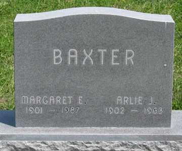 BAXTER, MARGARET E. - Hitchcock County, Nebraska | MARGARET E. BAXTER - Nebraska Gravestone Photos