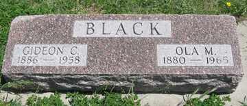 BLACK, GIDEON C. - Hitchcock County, Nebraska | GIDEON C. BLACK - Nebraska Gravestone Photos