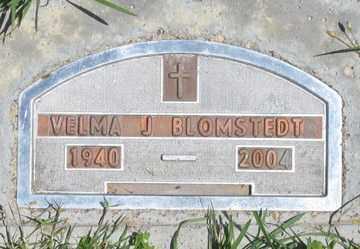 BLOMSTEDT, VELMA J. - Hitchcock County, Nebraska   VELMA J. BLOMSTEDT - Nebraska Gravestone Photos