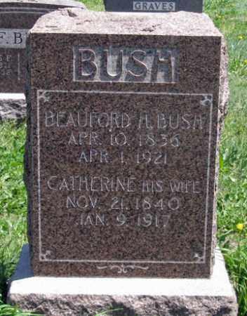 BUSH, BEAUFORD H. - Hitchcock County, Nebraska | BEAUFORD H. BUSH - Nebraska Gravestone Photos