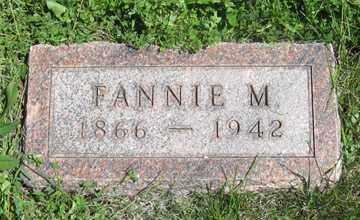 BUSH, FANNIE M. - Hitchcock County, Nebraska | FANNIE M. BUSH - Nebraska Gravestone Photos