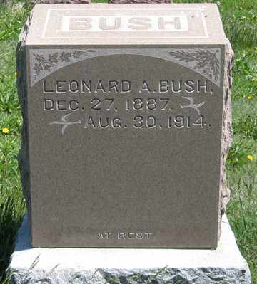 BUSH, LEONARD A. - Hitchcock County, Nebraska | LEONARD A. BUSH - Nebraska Gravestone Photos