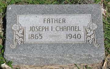 CHANNEL, JOSEPH I. - Hitchcock County, Nebraska | JOSEPH I. CHANNEL - Nebraska Gravestone Photos