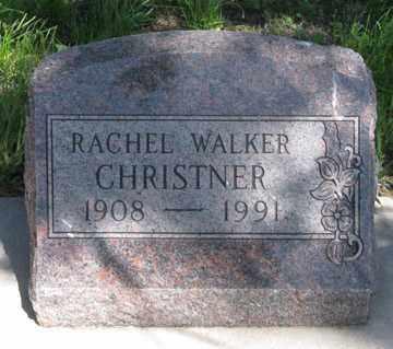 CHRISTNER, RACHEL - Hitchcock County, Nebraska | RACHEL CHRISTNER - Nebraska Gravestone Photos