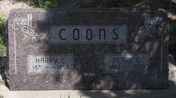 COONS, HARRY C. - Hitchcock County, Nebraska | HARRY C. COONS - Nebraska Gravestone Photos