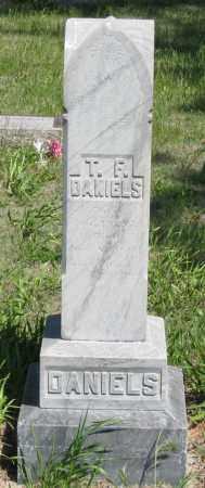 DANIELS, T. F. - Hitchcock County, Nebraska   T. F. DANIELS - Nebraska Gravestone Photos