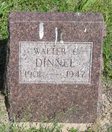DINNEL, WALTER C. - Hitchcock County, Nebraska   WALTER C. DINNEL - Nebraska Gravestone Photos