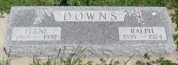 DOWNS, RALPH - Hitchcock County, Nebraska | RALPH DOWNS - Nebraska Gravestone Photos