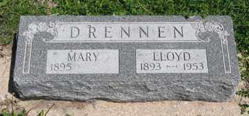 DRENNEN, LLOYD - Hitchcock County, Nebraska | LLOYD DRENNEN - Nebraska Gravestone Photos
