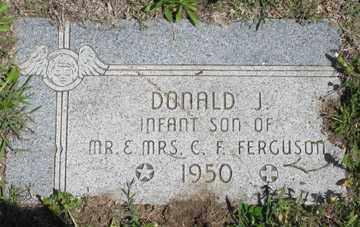 FERGUSON, DONALD J. - Hitchcock County, Nebraska | DONALD J. FERGUSON - Nebraska Gravestone Photos