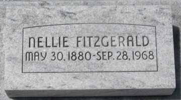FITZGERALD, NELLIE - Hitchcock County, Nebraska | NELLIE FITZGERALD - Nebraska Gravestone Photos