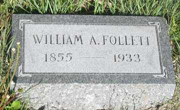FOLLETT, WILLIAM A. - Hitchcock County, Nebraska | WILLIAM A. FOLLETT - Nebraska Gravestone Photos