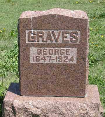 GRAVES, GEORGE - Hitchcock County, Nebraska   GEORGE GRAVES - Nebraska Gravestone Photos
