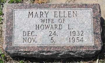 HARRINGTON, MARY ELLEN - Hitchcock County, Nebraska   MARY ELLEN HARRINGTON - Nebraska Gravestone Photos