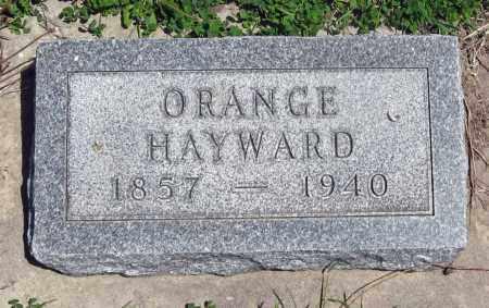 HAYWARD, ORANGE - Hitchcock County, Nebraska | ORANGE HAYWARD - Nebraska Gravestone Photos