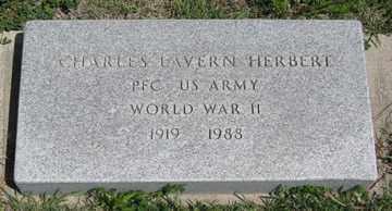 HERBERT, CHARLES LAVERN - Hitchcock County, Nebraska | CHARLES LAVERN HERBERT - Nebraska Gravestone Photos