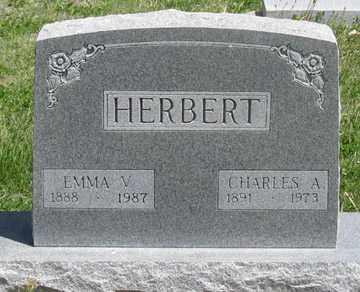 HERBERT, EMMA V. - Hitchcock County, Nebraska | EMMA V. HERBERT - Nebraska Gravestone Photos