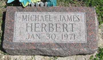 HERBERT, MICHAEL JAMES - Hitchcock County, Nebraska | MICHAEL JAMES HERBERT - Nebraska Gravestone Photos