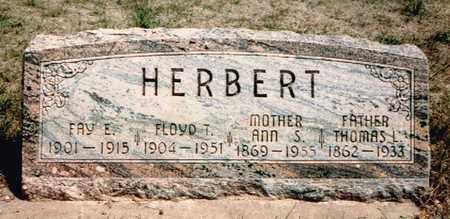 HERBERT, THOMAS - Hitchcock County, Nebraska | THOMAS HERBERT - Nebraska Gravestone Photos